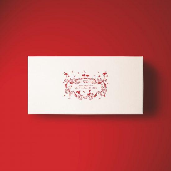 Vestida de flores - Diseño de identidad y packaging de productos para Vestida de flores