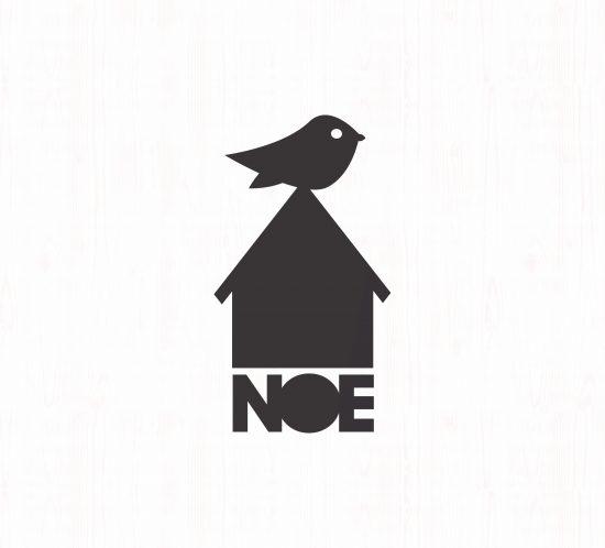 Vestida de flores - Diseño logotipo y packaging para Cerámicas Noe