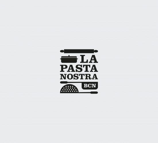 Vestida de flores - Diseño de la identidad y packaging para tienda-restaurante La Pasta Nostra
