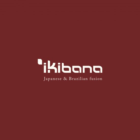 Vestida de flores - Diseño de la identidad corporativa para restaurante Ikibana