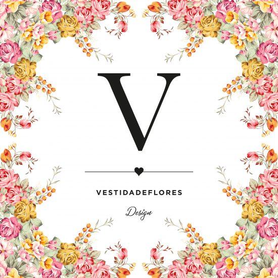 Vestida de flores - Diseño del logotipo para Vestida de flores