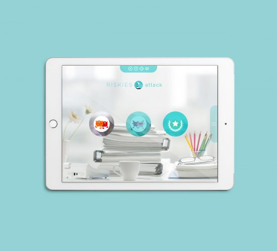 Vestida de flores - Diseño juego online para la prevención de riesgos laborales