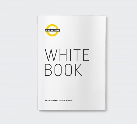 Vestida de flores - Diseño White Book Mind the Gap