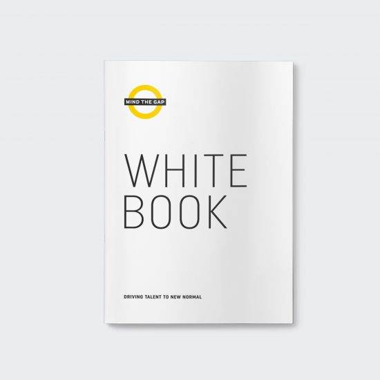 Vestida de flores - Diseño White Book Mind the Gap