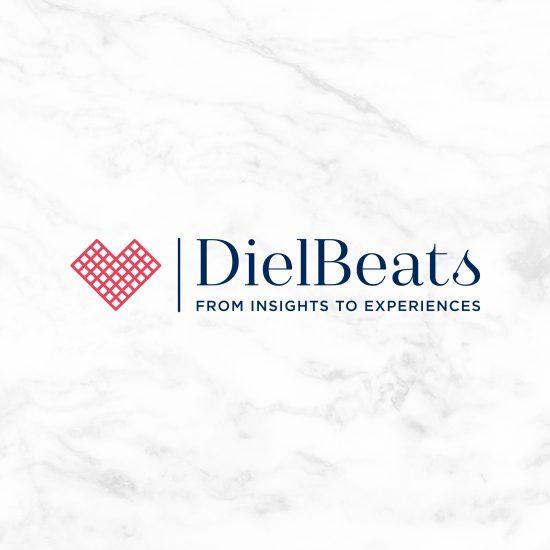 Vestida de flores - Diseño del logotipo para Diel Beats