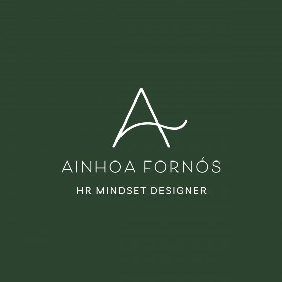 Vestida de flores - Diseño del logotipo para Ainhoa Fornós