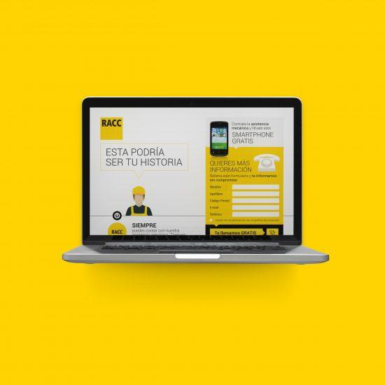 Vestida de flores - Diseño newsletter compañía de seguros