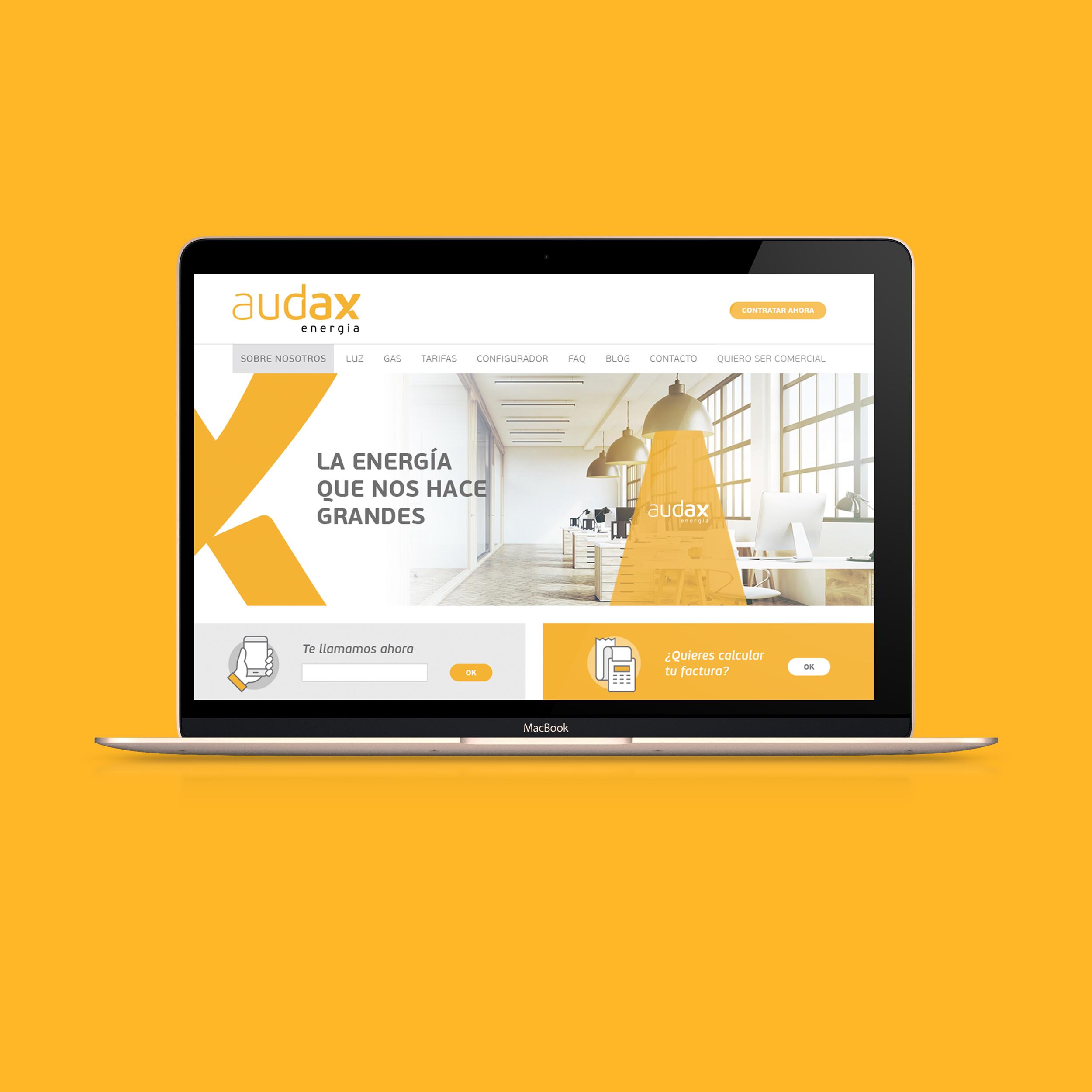 Vestida de flores - Diseño Web Compañía Eléctrica