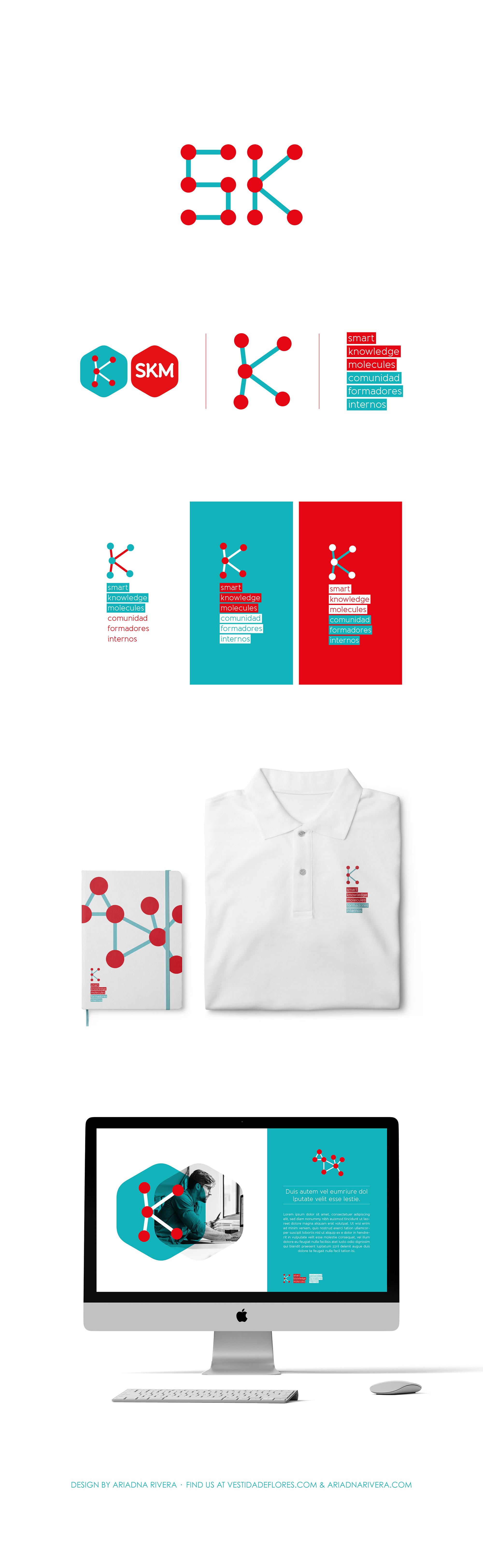 Vestida de flores - Diseño Identidad Corporativa para Formadores Internos