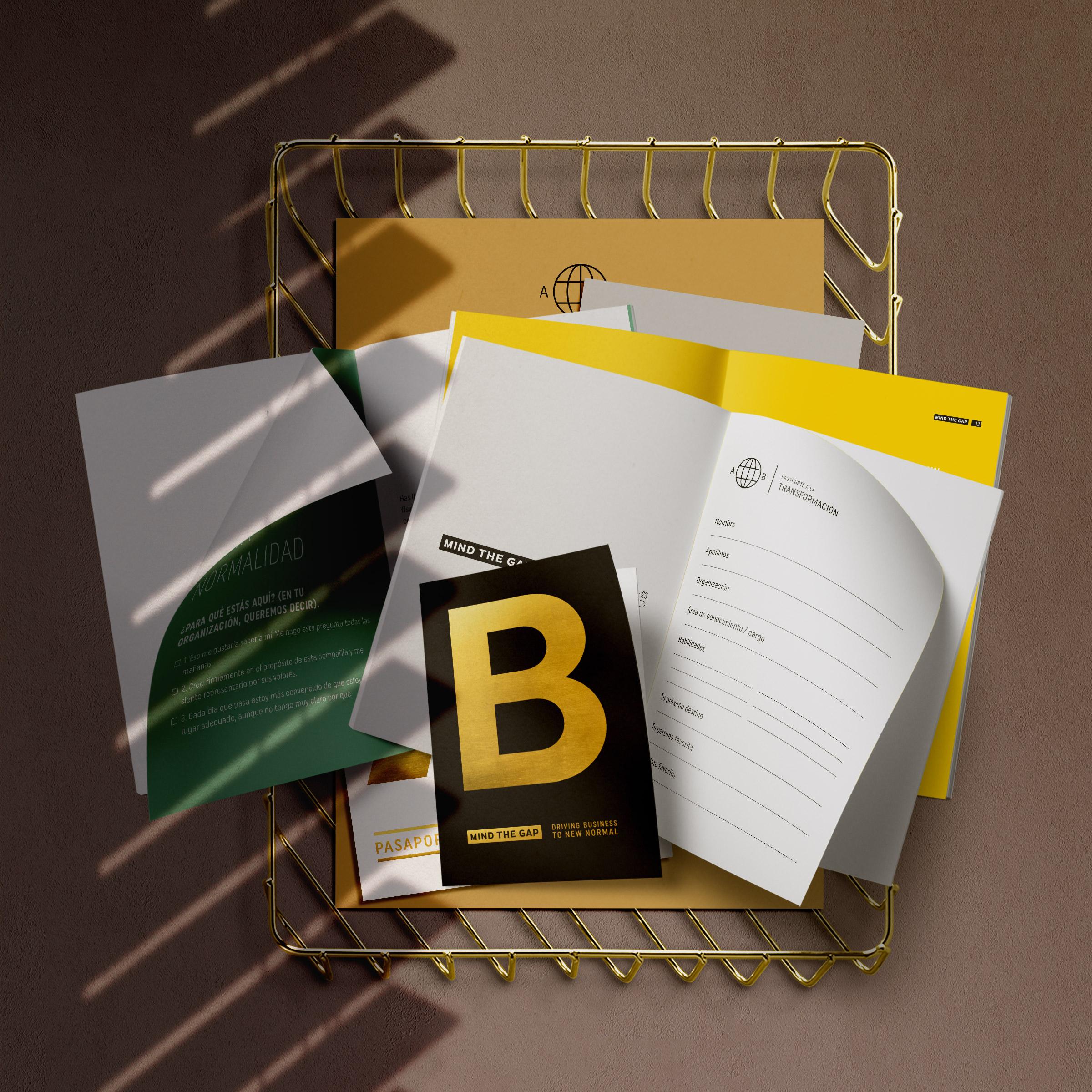 Vestida de flores - Diseño folleto para consultora