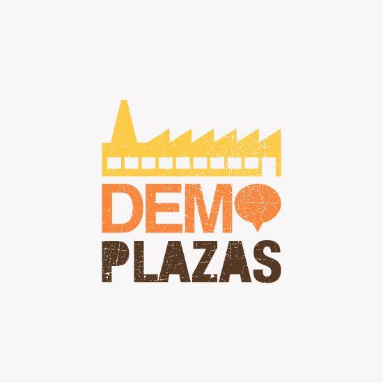 Vestida de flores - Diseño de evento itinerante Demoplazas del Consejo de la Juventud de España