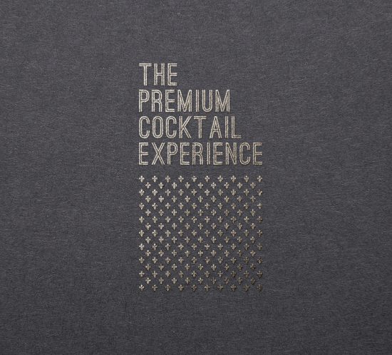 Vestida de flores - Diseño gráfico para evento The Premium Cocktail Experience