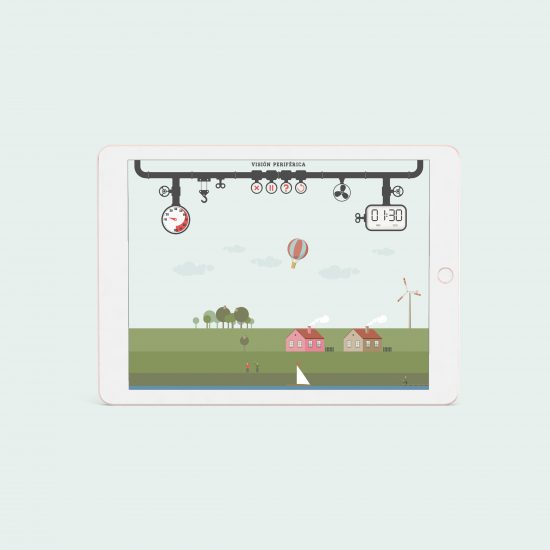 Vestida de flores - Diseño juegos on line para formación interna sector ferrocarril