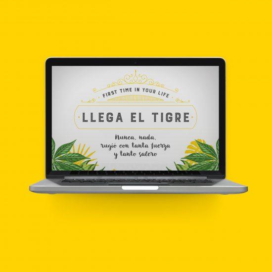 Vestida de flores - Diseño newsletter Mind the Gap