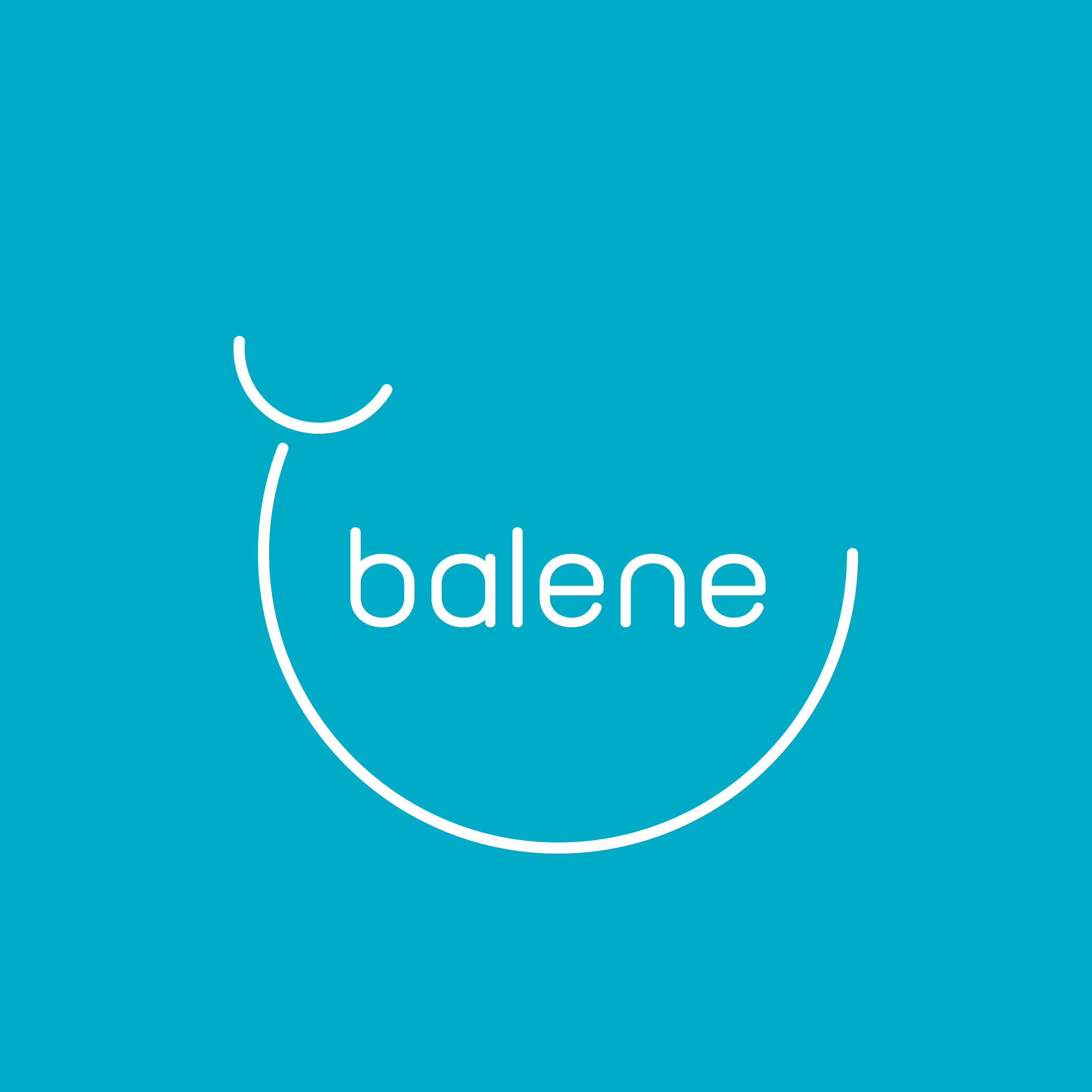 Vestida de flores - Diseño logotipo para Balene